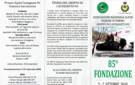 85° Gruppo Castagneto Po